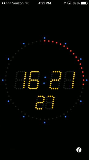 Atomic Clock screenshot