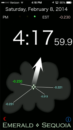 Emerald Time screenshot